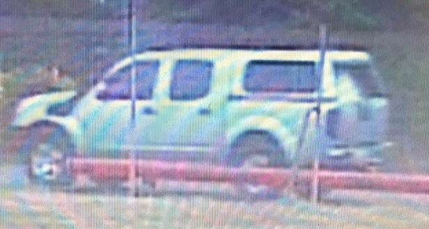 Police are seeking information about the below vehicle which may have been involved in an incident at Tas Paper on 21 November.