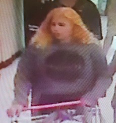 Police are seeking public assistance to identify the woman pictured below in relation to a matter that occurred at Coles, Ulverstone.