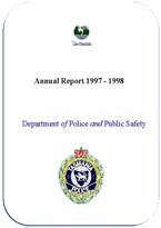 Cover Page Annual Report 1997-1998