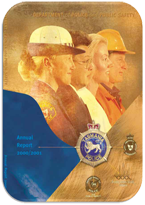 Cover Page Annual Report 2000-2001