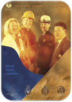 Cover Page Annual Report 2001-2002