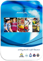 Cover Page Annual Report 2007-2008