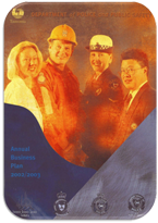 Cover Page Business Priorities 2002-2003