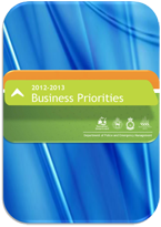 Cover Page Business Priorities 2012-2013