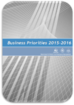 Icon: Business Priorities 2015-2016 Cover Page