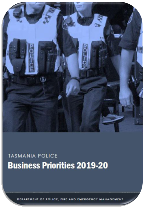 Cover page of Business Priorities 2019-2020