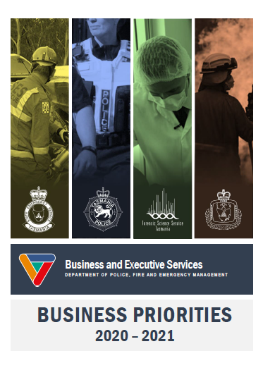 Cover page of Business Priorities