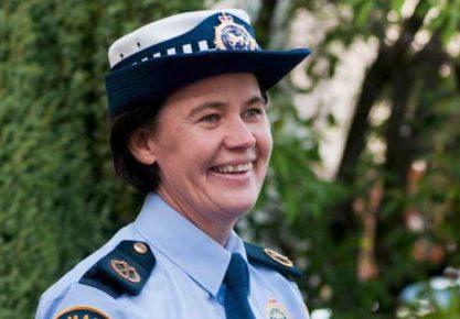 Deputy Secretary, Donna Adams (courtesy Inspector Andrew Keane)