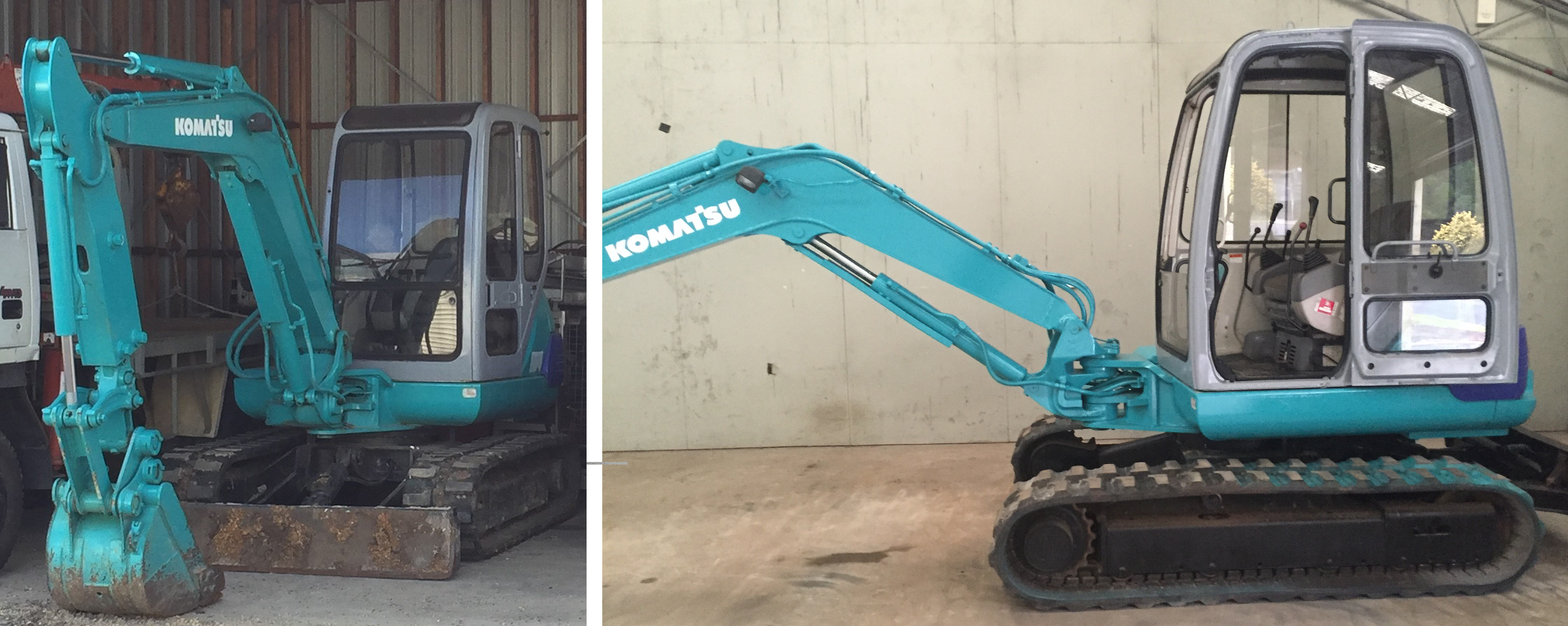 Excavator stolen from Hampshire between 15 March and 22 March 2019