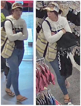 Woman pictured - identity required regarding incident at Harris Scarfe on 13 November