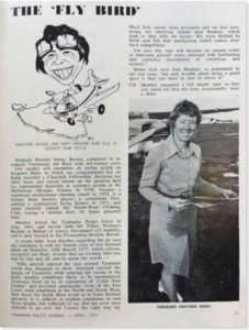 Heather featured in a 1977 Tasmania Police Journal