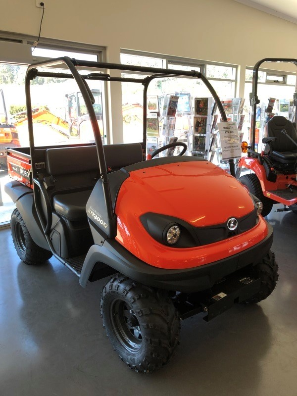 Police would like to speak to anyone with information about the theft of the pictured ATV from the storage yard at Total Ag Services, Stony Rise Devonport between 14-15 January.