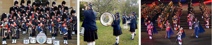 Images: Tasmania Police Pipe Band