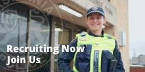 Recruiting Now Button