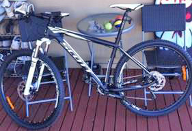 Stolen bike information sought white Ref 603886
