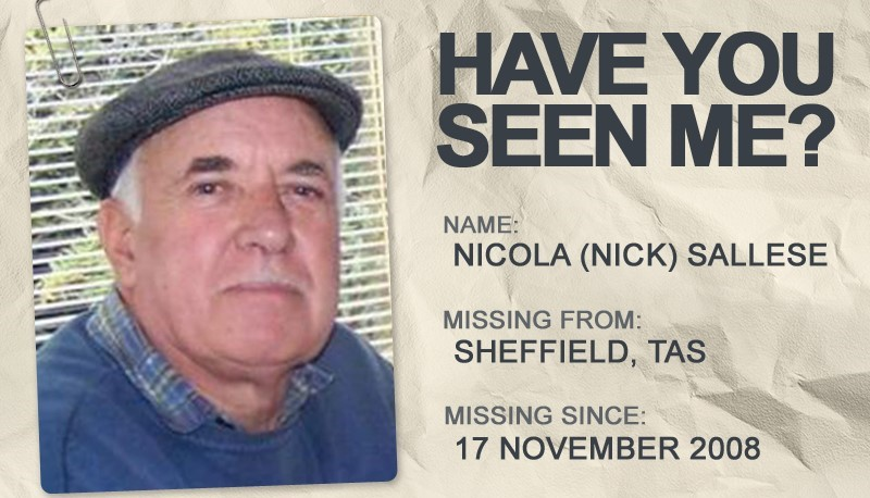 National Missing Persons Week profile graphic - Nichola Sallese