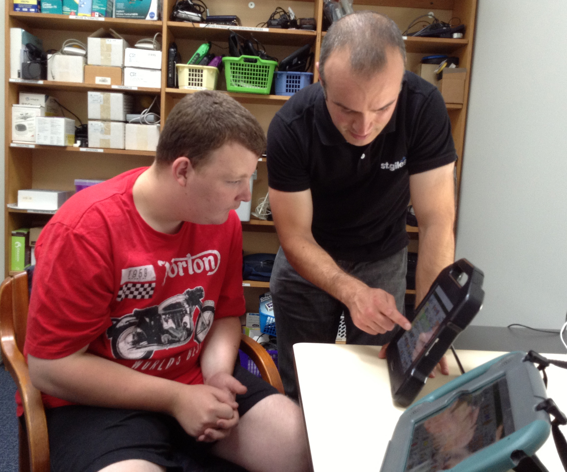 TPCT Donation to Making Assistive Techology more accessible