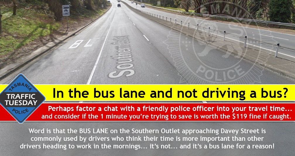 Traffic Tuesday graphic - Bus Lanes