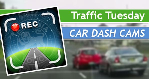 Traffic Tuesday Graphic - Car Dash Cams