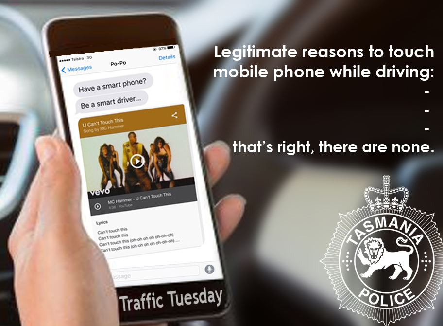 Traffic Tuesday graphic Mobile Phones