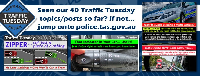Traffic Tuesday graphic 40 posts wrap up so far