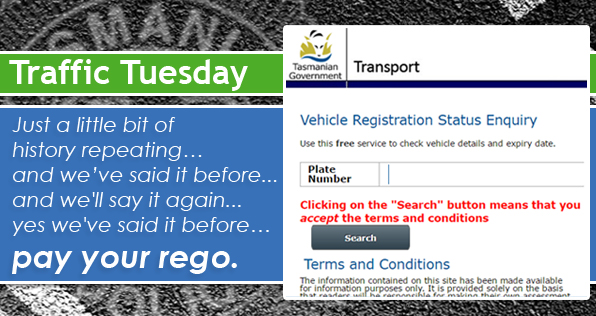 Traffic Tuesday Registration Reminder graphic