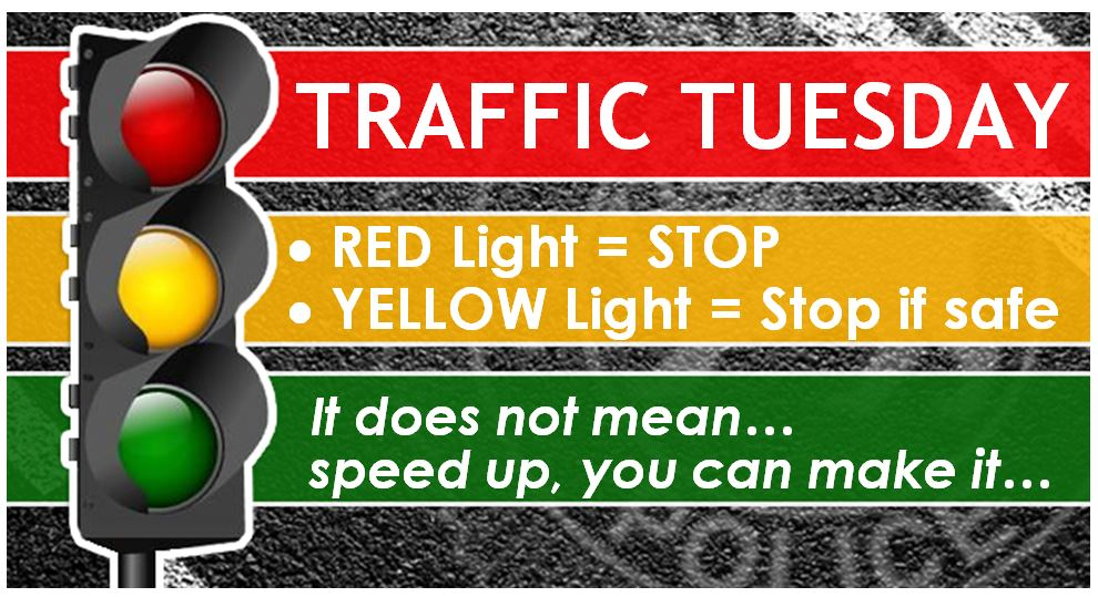 Graphic: Traffic Tuesday: Traffic Lights