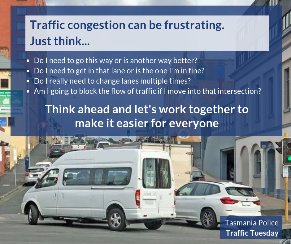 #58 - Traffic congestion can be frustrating