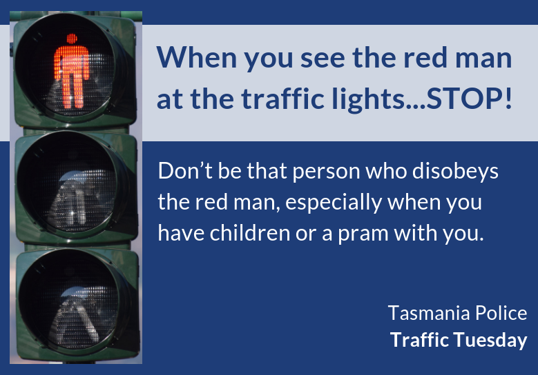#56 - When you see the red man at the traffic lights...STOP!