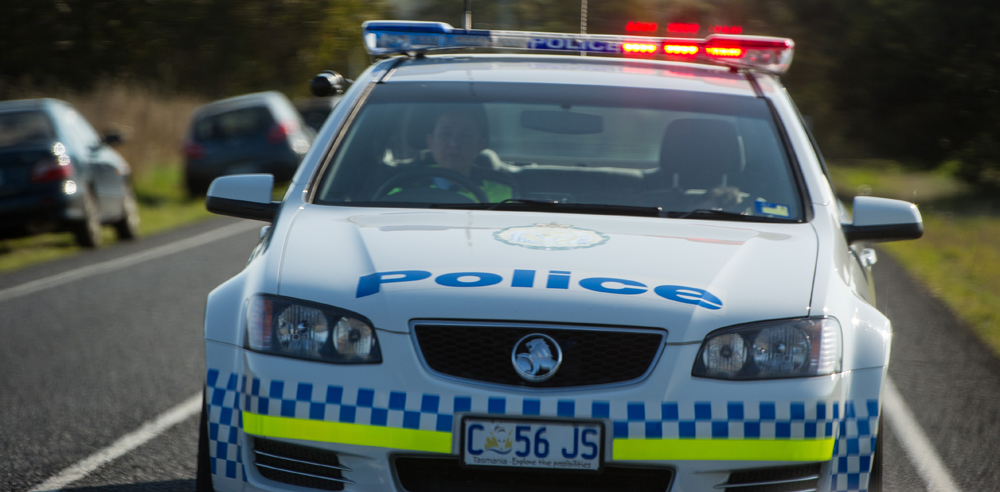 Tasmania Police Car