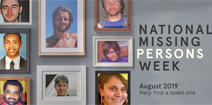National Missing Persons Week 2019 thumbnail graphic