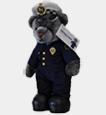 Tasmania Police Charity Trust Constable T Bear.